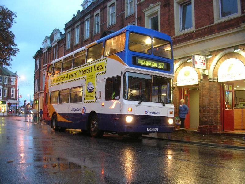 Rainy Exmouth - Stagecoach Devon Bus Photos