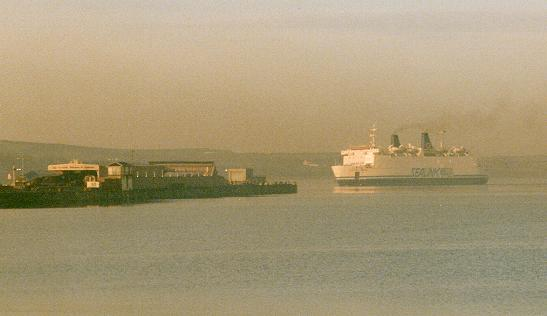 Portsmouth To Le Havre Ferry >> Ferries in Fog